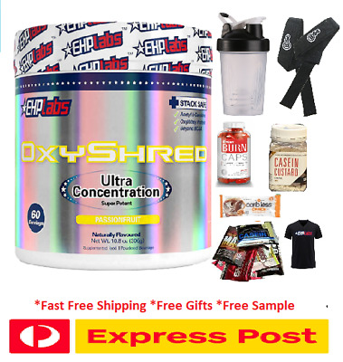 AU79.54 • Buy Oxy Shred Ehplabs Oxyshred Ehp Labs Thermogenic Fat Burning Cheap//oxy