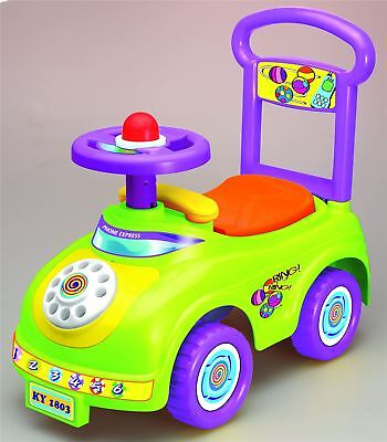 Push Along Sit On Ride On Car Quality Plastic Toy Telephone Theme • 18.95£