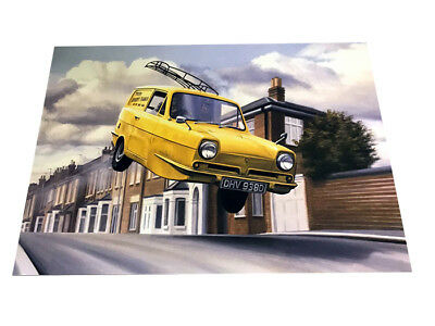 Only Fools And Horses The Trotter Van – Beautiful Colour Art Poster A3 • 5.99£
