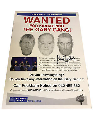 £19.99 • Buy Only Fools And Horses The GARY Gang Poster Hand Signed By John Challis A3