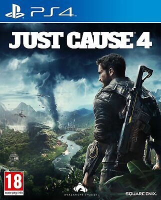 Just Cause 4 (PS4) IN STOCK NOW New & Sealed UK PAL Free UK Postage • 9.99£