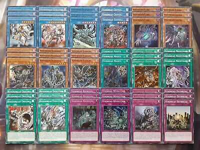AU42.18 • Buy Yugioh Tournament Ready To Play Vendread 54 Card Deck Zombie Revendread Slayer