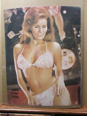 $ CDN60.09 • Buy Vintage Poster Rachel Welch Hot Girl 1979 Actress Inv#G2869