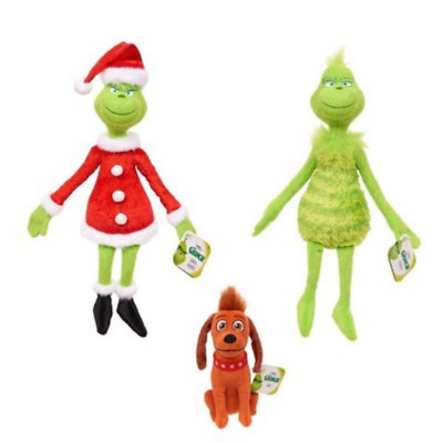 £6.50 • Buy New How The Grinch Stole Christmas Stuffed Plush Toy Grinch Kid Xmas Gift