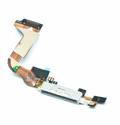 For IPhone 4 4G Charging Charger Dock Port Connector Block Flex Cable Part White • 2£