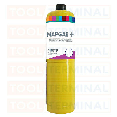 £12.89 • Buy MAPP / MAP Plus Gas Bottle Disposable Cylinder Plumbers Torch Jet Burner