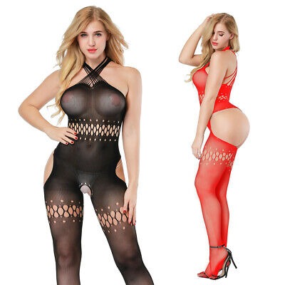 $9.66 • Buy Cozy Feel Women's Sexy Lingerie Fishnet Body Stockings Dress Underwear 8511
