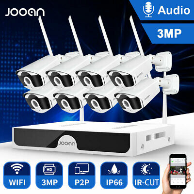 AU359.99 • Buy Full HD 3MP Wireless Security Camera System IP WIFI CCTV Outdoor 8CH H.265 8cam