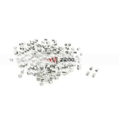 $ CDN6.05 • Buy 100 Pcs 250V 4Amp Fast Blow Type Glass Tube Fuses 5 X20mm Silver Tone Clear