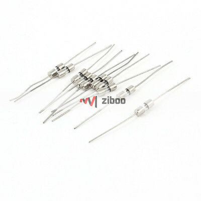 $ CDN8.64 • Buy 100Pcs 250 Volts 15Amp Fast Blow Type Glass Tube Fuses 6 Mm X 30 Mm Silver Tone