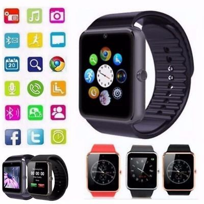 AU20.99 • Buy Bluetooth Smart Watch Wrist Phone Call Camera Touch Screen For Android IOS Kids