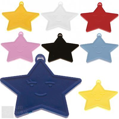 £2.84 • Buy Plastic Star Shaped Helium Balloon Weights - Wedding Birthday Party Decorations