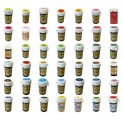 £3.75 • Buy Sugarflair Concentrated Food Colouring Paste Gel Colours Spectral Pastel 25g