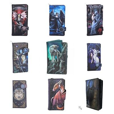 Nemesis 3D Embossed Ladies Purse Fantasy Cat Snow Wolf Dragon Card Coin Slots • 18.20£