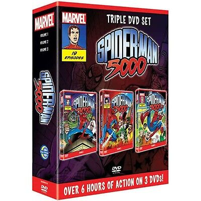SPIDERMAN 5000 COMPLETE SERIES DVD MARVEL Cartoon Animation UK New R2 19 Eps • 54.99£