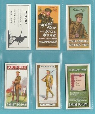 £2.95 • Buy Military  -  Victoria  Repros  (of Wills)  -  Set  Of  12  Recruiting  Posters