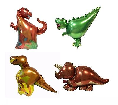 £2.99 • Buy Inflatable Foil Dinosaur Balloons Helium Balloon Birthday Party Toy T-REX RAPTOR