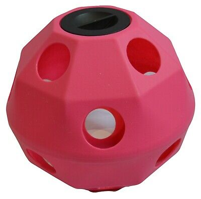 £39.99 • Buy Pink Equine Horse Or Pony Hay Ball 75mm Treat Feeder, **MULTI-BUY DISCOUNT**