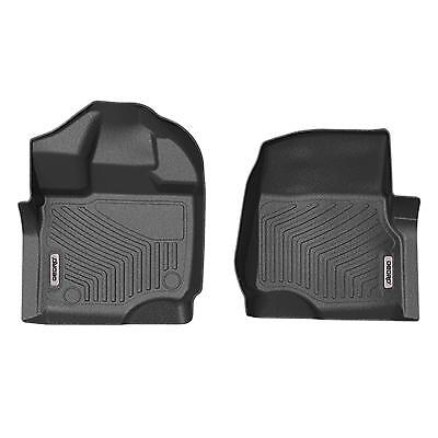 OEDRO Fit For 2015-2020 Ford F150 F-150 SuperCrew Cab TPE Front Floor Mats Liner • 56.99$