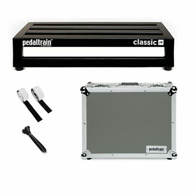$ CDN381.14 • Buy Pedaltrain Classic JR Junior With Tour Case Guitar Effects Pedal Board With Case