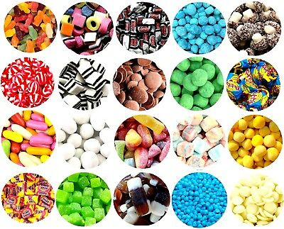 £7.95 • Buy Pick N Mix RETRO SWEETS OVER 100 CHOICES 200g 400g Haribo FATHERS DAY HALLOWEEN