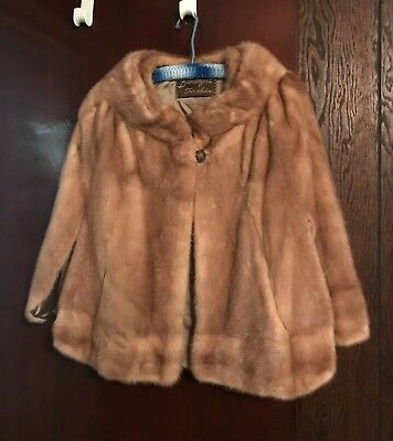 $180 • Buy Real Mink Fur Stole From The 60's