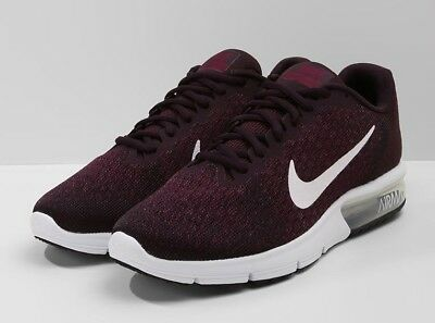 low priced b5544 92a0b Hombre Nike Air Max Sequent 2 Zapatillas Running 852461 601 UK 9 Ue 44