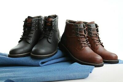 $49.99 • Buy Polar Fox Men's Casual Work Lace Classic Motorcycle Dress Combat Riding Boots