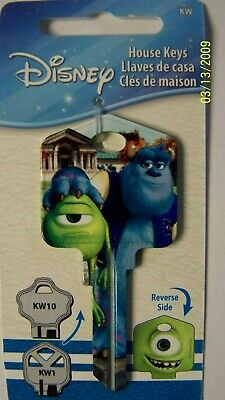 $ CDN8.46 • Buy Disney Mike & Sully Kwikset Kw1/kw10 House Key Blank