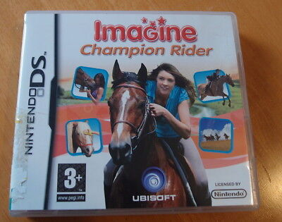 Imagine: Champion Rider (Nintendo DS, 2008) Boxed With Booklet • 4.99£