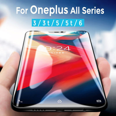 AU5.29 • Buy 5D Curved Screen Protector Full Coverage For One Plus 8 Pro 7T 6 Tempered Glass