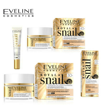 Eveline Anti Ageing Royal Snail Anti Wrinkle Face Line Eye Cream Face Care Mask • 9.59£