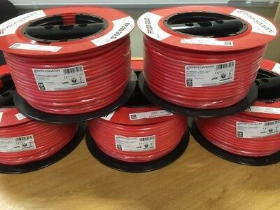 PRYSMIAN FP200 GOLD FIRE ALARM CABLE RED.1.5MM 2CORE +EARTH - 100MTR - New Stock • 102.95£