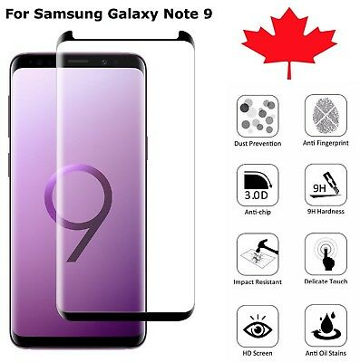 $ CDN6.45 • Buy For Samsung Galaxy Note 9 Case Friendly Premium Tempered Glass Screen Protector