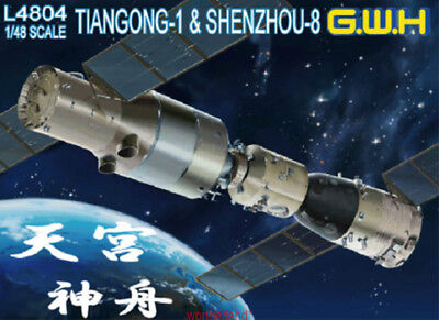 Greatwall 1/48 L4804 Tiangong Space Station And Shenzhou Spaceship Top Quality • 28.99£