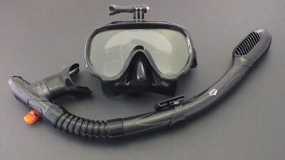 AU39.95 • Buy New Snorkeling Diving Liquid Silicone Set WIL-DS-32B With GoPro Mask