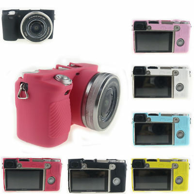 $ CDN9.85 • Buy New Silicone Camera Cover Case Soft Protection Bag Skin For Sony Alpha A6000