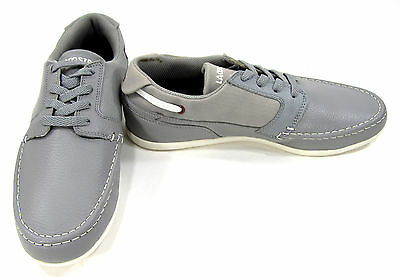 LaCoste Shoes Dreyfus Cre SPM Leather Gray Sneakers Size 7.5 • 49.65£