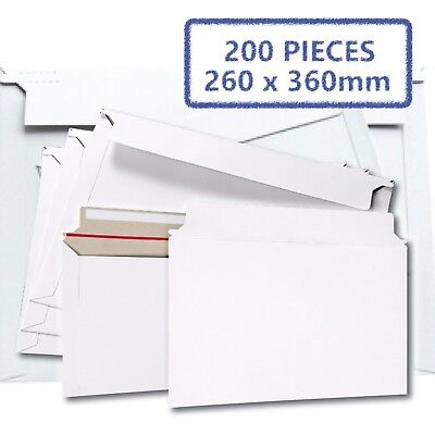 AU65.62 • Buy 200x Card Mailer B4 260x360mm 300gsm Business Envelope - Tough Bag Replacements