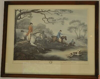 Fox Hunting 2nd No 4 : La Chasse Au Renard Print By Samuel Howitt • 30£