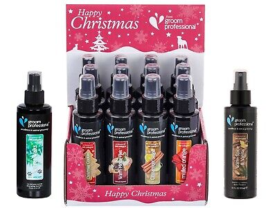 Dog Grooming Perfume Cologne Christmas Cookie Mince Pie Cinnamon Orange Scents • 6.99£
