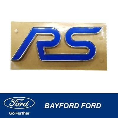 AU49.95 • Buy Genuine Ford Focus Rs Badge Suits Lv & Lz Models 9m5y42528ab Decal Qty 1