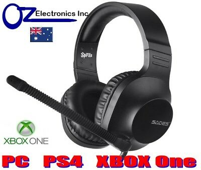 AU32 • Buy SADES SA721 SPIRITS Gaming Headset Headphones Noise Cancel Mic Xbox One PS4 PC