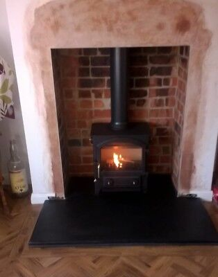 Fireplace Hearth | LARGE Hearths 1m Deep Various Width | Natural Black Limestone • 192£