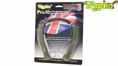 £27.95 • Buy Napier Pro Max 10 & Pro 9 Hearing Protection Clay Pigeon Shooting 1st Class Post