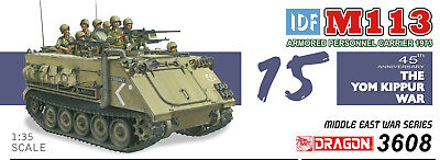 $75.50 • Buy DRAGON 3608 IDF M113 Armored Personnel Carrier
