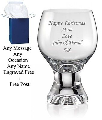 £9.98 • Buy Personalised Engraved Whiskey Glass 50th 60th 65th 70th Birthday Gift Boxed