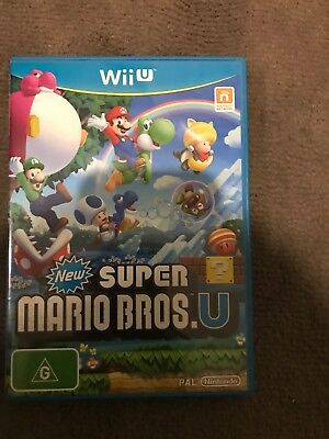 AU35 • Buy New Super Mario Bros U - Nintendo Wii U - BRAND NEW Never Used Wiiu