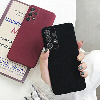 AU3.69 • Buy For Samsung Galaxy A21S A31 A41 S21/S30 Sandstone Slim Silicone Soft Case Cover