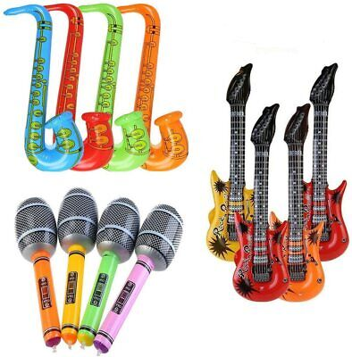 £2.49 • Buy Inflatable Guitar / Saxophone Musical Instrument Photo Booth Prop Festival Party